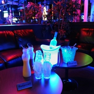 Nightclub Entry, Q-Jump,Table and Bottle