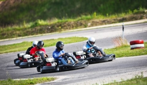 Riga Outdoor Go Karting Experience | Riga Stag Weekend