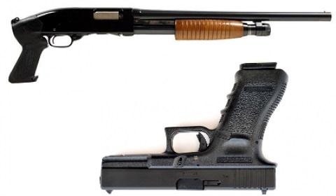 Riga Shooting Four Guns and AK47   Riga Stag Weekend